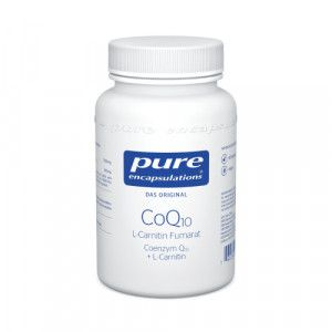 PURE ENCAPSULATIONS CoQ10 L Carnitin Fumar.Kps.