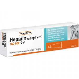 HEPARIN-RATIOPHARM 180.000 I.E. Gel