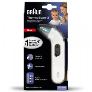 BRAUN THERMOSCAN 3 Infrarot-Ohrthermometer