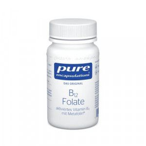 PURE ENCAPSULATIONS B12 Folate Kapseln
