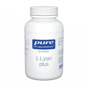 PURE ENCAPSULATIONS L-Lysin plus Kapseln