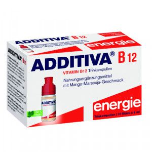 ADDITIVA Vitamin B12 Trinkampullen