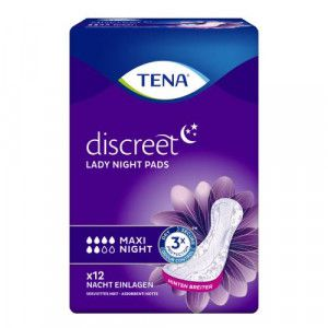 TENA LADY Discreet Einlagen maxi night